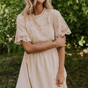 Appolonia Lace Maxi Dress